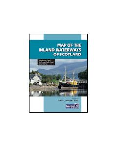 Map Of Inland Waterways Of Scotland - 2nd Edition