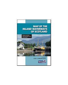 Map Of Inland Waterways Of Scotland - 2nd Edition