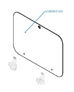 Smev / Dometic 8023 Replacement Glass Lid