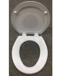 Seat & Lid For Large Bowl Sealand Toilets White