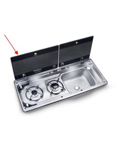 Left Hand Glass for Dometic MO9722R