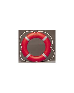 D.O.T. Plastic Ring Buoy 2.8K complete with 30M Rope