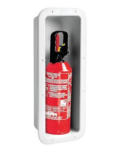 Fire Extinguisher Box for 1kg Extinguisher Recessed