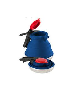Collapsible Silicone Kettle Blue