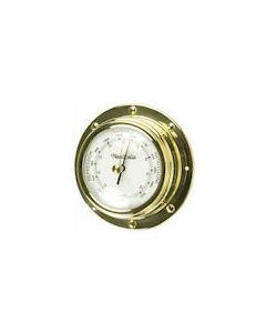 Rivet-style Barometer Spun Brass