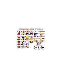 International Code of Signals Self Adhesive 16 x 12cm
