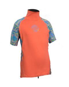Gul Girls Junior Short Sleeve Rashvest
