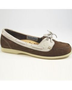Orca Bay Shoes Spinnaker Ladies - Chocolate/White